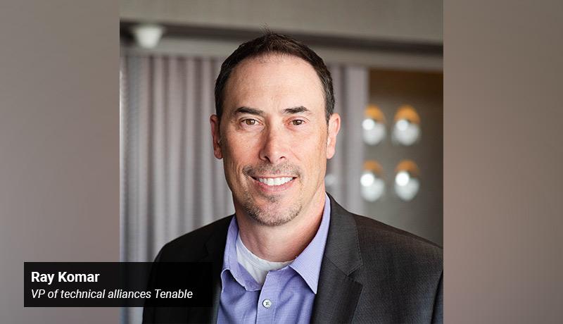 Ray Komar, vice president - Tenable - techxmedia