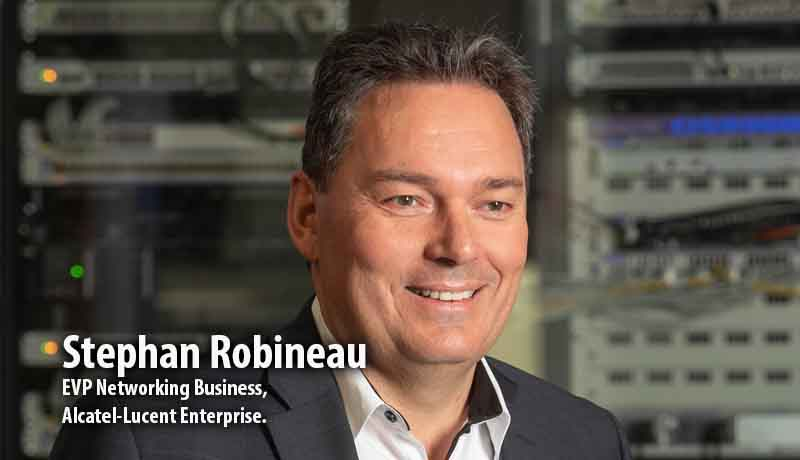 Stephan Robineau, EVP Networking Business, Alcatel-Lucent Enterprise - Alcatel-Lucent Enterprise -Wi-Fi 6 market - Techxmedia