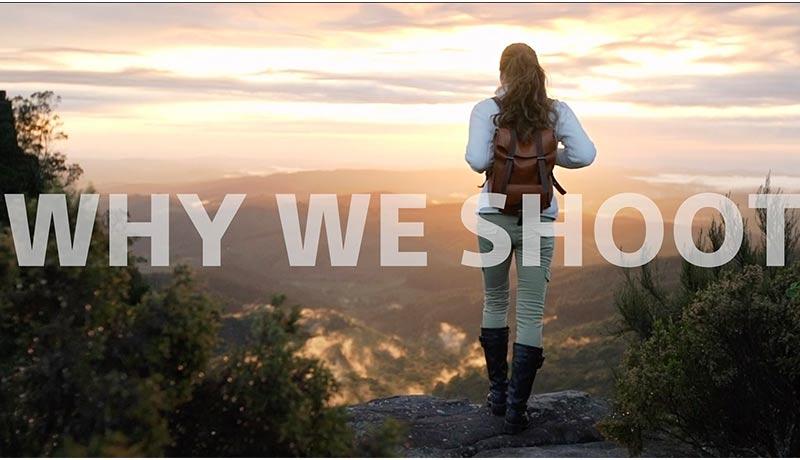 sony - Why We Shoot - techxmedia