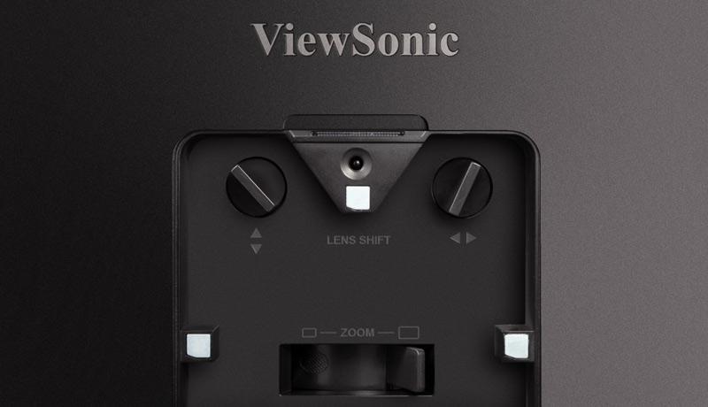 inside - Viewsonic X100–4K+ Projector - techxmedia