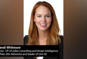 Wendi Whitmore - senior vice president - cyber consulting- threat intelligence - Palo Alto Networks - techxmedia