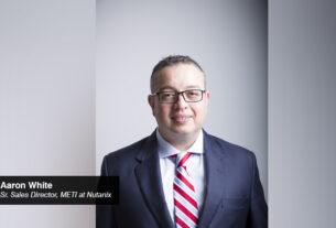 Aaron White- Sr. Sales Director- METI - Nutanix - techmedia