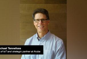 Aruba - Michael Tennefoss - vice president - loT and strategic partner - techxmedia