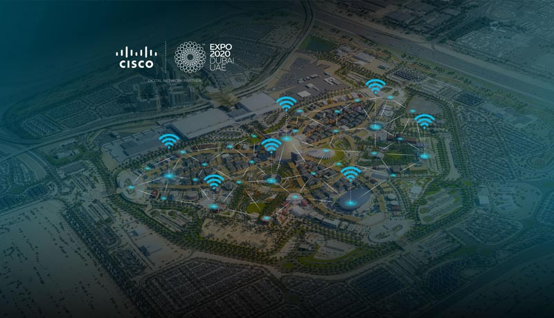 Cisco- high-speed Wi-Fi - Expo 2020 site- techxmedia