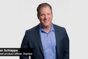 Dan Schiappa- chief product officer - Sophos - techxmedia (2)