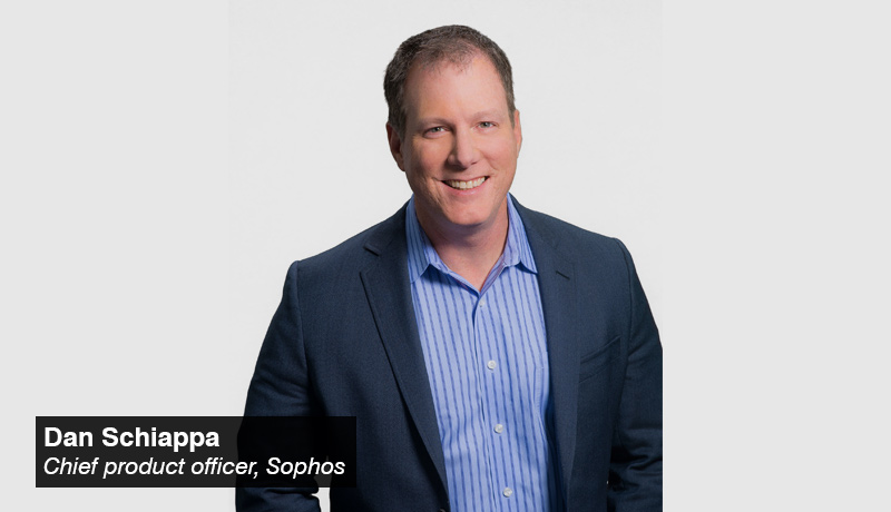Dan Schiappa- chief product officer - Sophos - techxmedia (2)