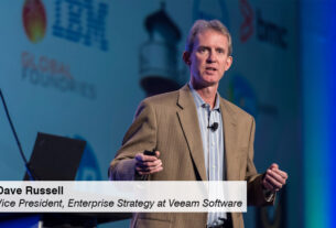Dave Russell - Vice President - Enterprise Strategy - Veeam Software - techxmedia