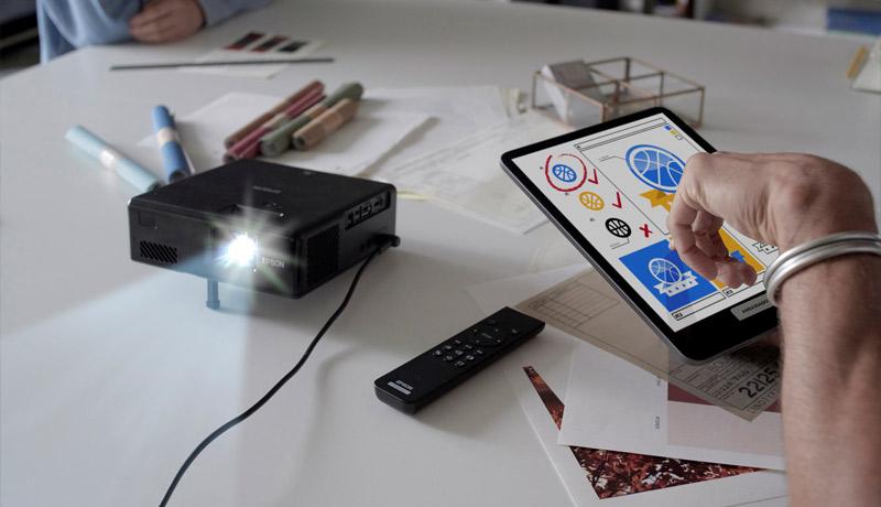 EF-11 Laser Projection TV - techxmedia