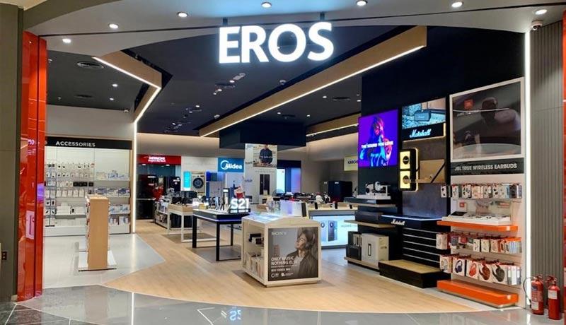 Eros Group - retail stores - EROS stores - techxmedia