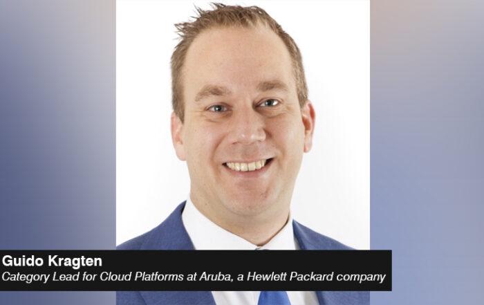 Guido Kragten - Category Lead for Cloud Platforms - Aruba- Hewlett Packard company - techxmedia