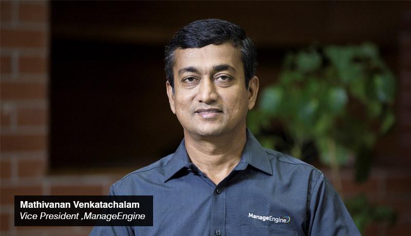 Mathivanan Venkatachalam- vice president - ManageEngine-TECHXMEDIA