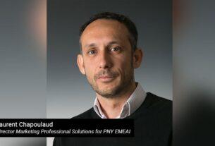 PNY - AI storage appliances - Laurant Chapoulaud - TECHx