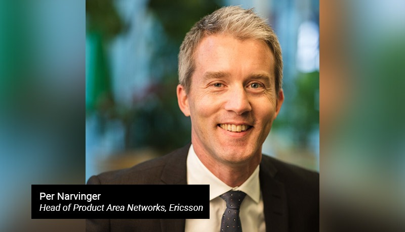 Per Narvinger- Head of Product Area Networks- Ericsson-techxmedia