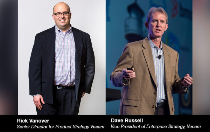 Rick Vanover - Senior Director for Product Strategy - Dave Russell -Vice President of Enterprise Strategy - Veeam - techxmedia