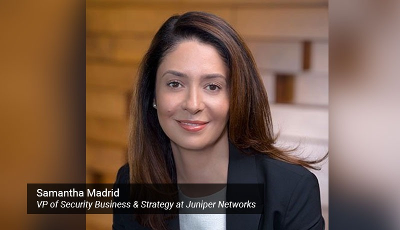Samantha Madrid - VP of Security Business & Strategy - Juniper Networks - techxmedia