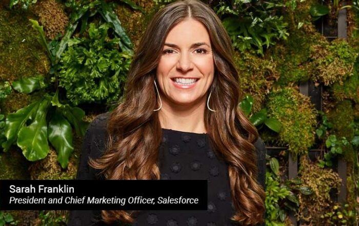 Sarah Franklin - President and Chief Marketing Officer- Salesforce - TECHXMEDIA