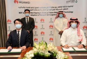 Saudi Ministry of Transport - Huawei - MoU - techxmedia