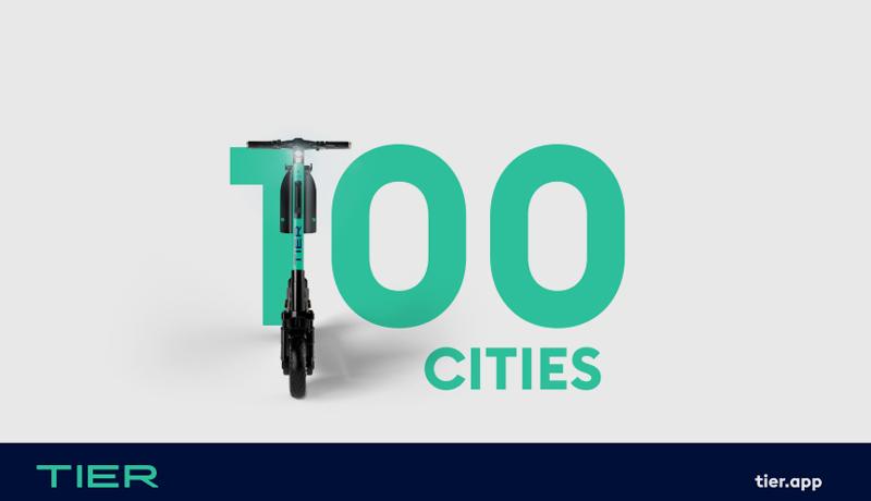 TIER - milestone - 100 cities - techxmedia