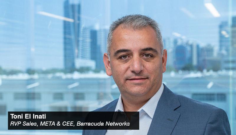 Toni El Inati - RVP Sales - META & CEE- Barracuda Networks - techxmedia