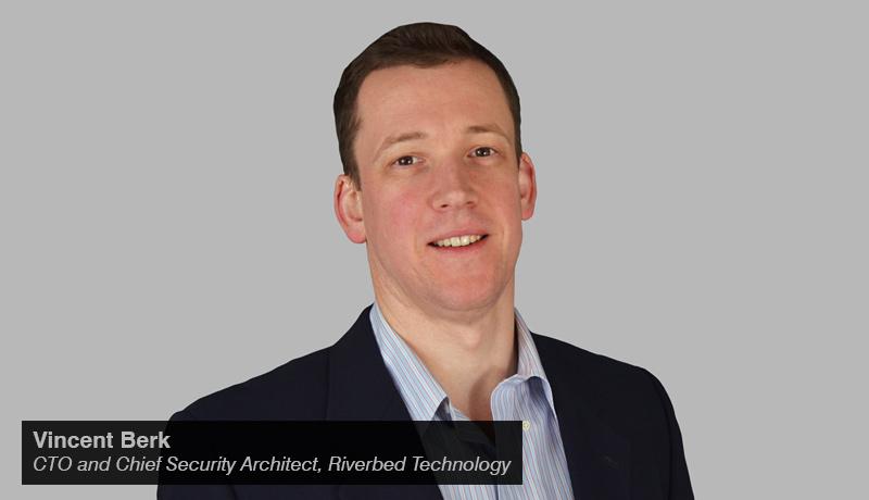 Vincent Berk - CTO - Chief Security Architect - Riverbed. - techxmedia