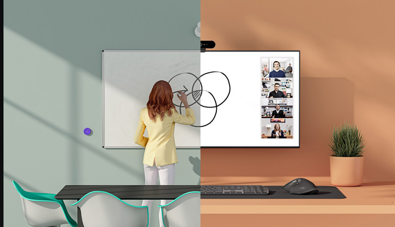 whiteboard camera - logitech - techxmedia