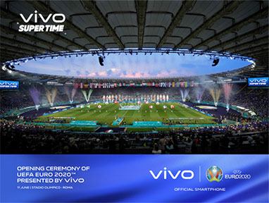 1 - Vivo - opening ceremony - UEFA EURO 2020 - techxmedia