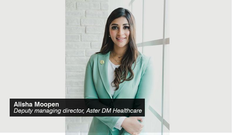 Alisha Moopen - deputy managing director - Aster DM Healthcare - techxmedia