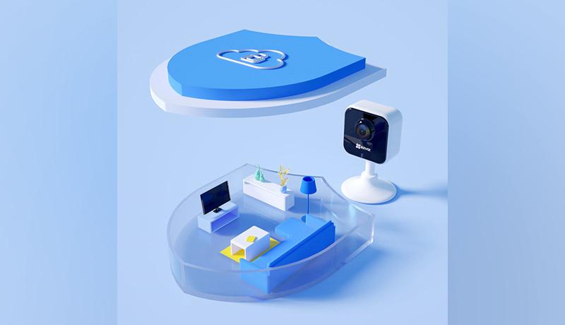 home security camera-EZVIZ App- techxmedia