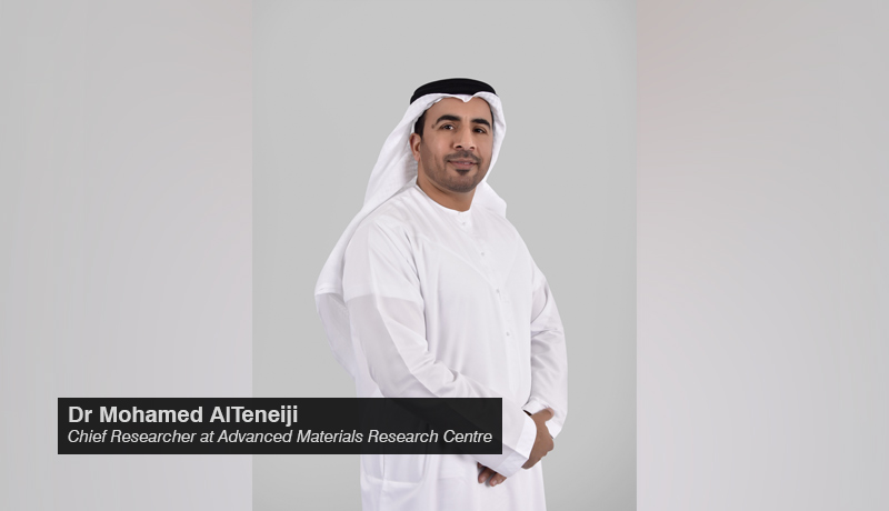 Dr Mohamed AlTeneiji - Chief Researcher - Advanced Materials Research Centre - techxmedia