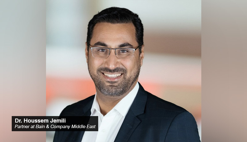 Dr. Houssem Jemili - Partner - Bain & Company - Middle East - techxmedia