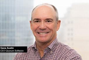Gene Austin - CEO - Quorum Software - techxmedia