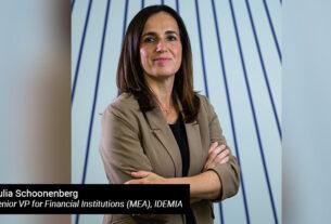 Julia-Schoonenberg,-Senior-VP-for-Financial-Institutions-(MEA),-IDEMIA - techxmedia