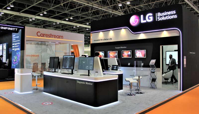 LG - medical display - patient care - Arab Health 2021 - techxmedia