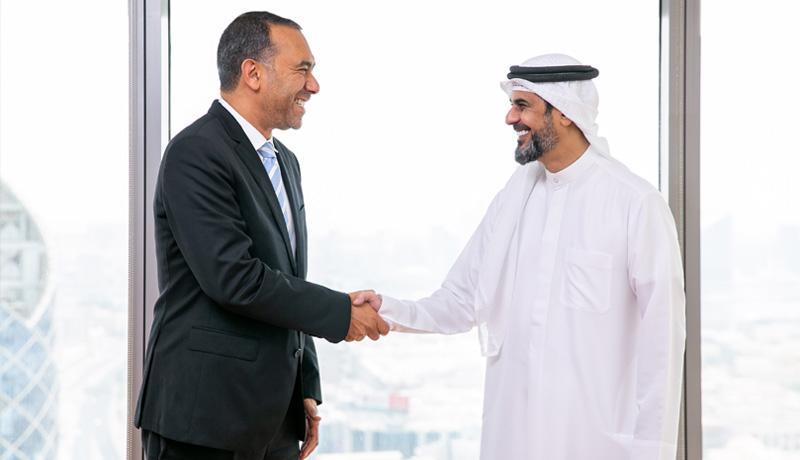 Omnix-International-CEO-Wael-Fakharany-...-vices-Officer,-Rashed-al-Hameli - techxmedia
