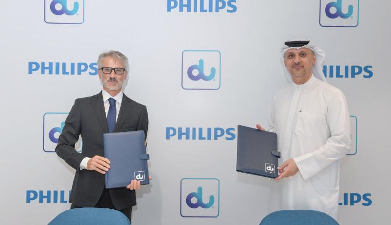 Philips - du - healthcare transformation - UAE - techxmedia