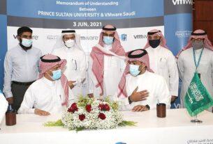 Prince Sultan University - MoU - Gulf's Regional VMware IT Academy - techxmedia