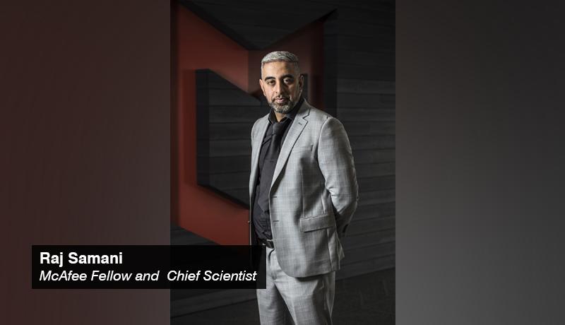 Raj Samani - McAfee fellow - chief scientist - techxmedia