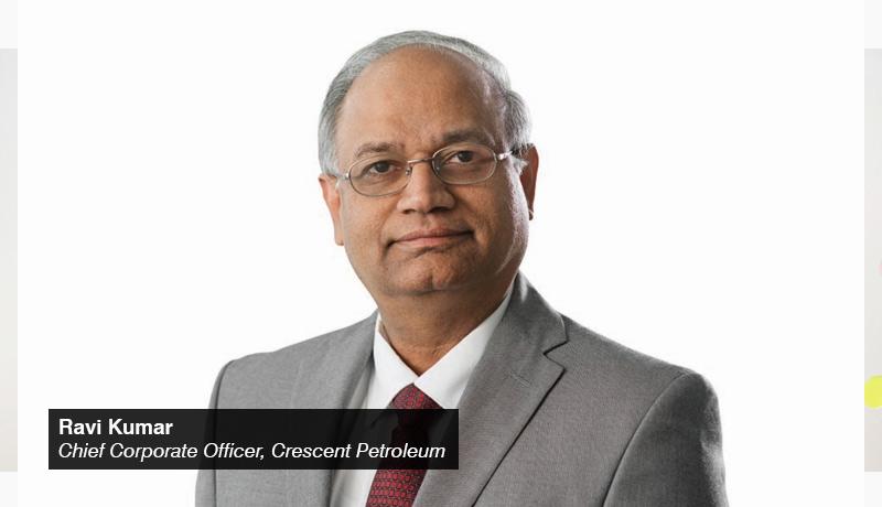 Ravi Kumar - Chief Corporate Officer - Crescent Petroleum - techxmedia