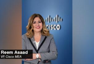Reem Asaad, - Vice President - Cisco - Middle East - Africa - techxmedia