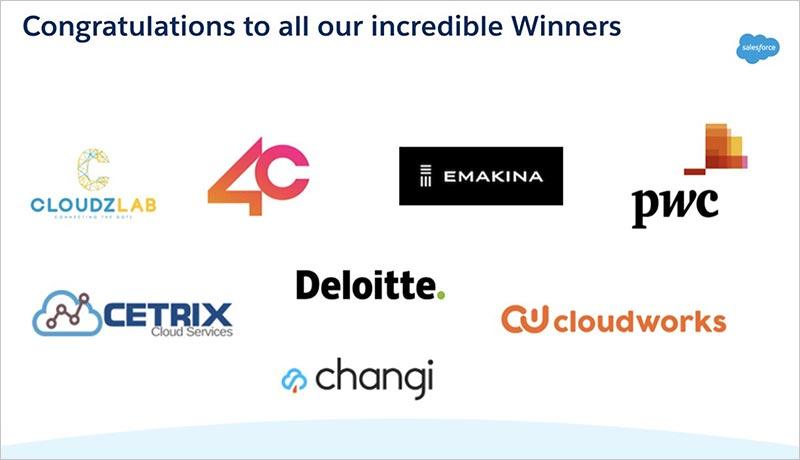 Salesforce- Partner-Awards-Logos- techxmedia