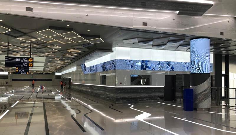 digital signages - 2020 metro stations - techxmedia