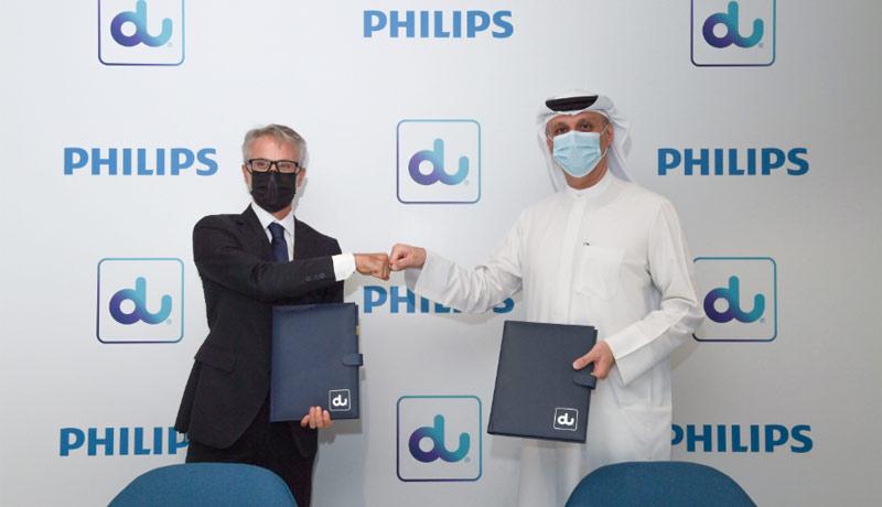 du - Philips - data-driven healthcare transformation - UAE - techxmedia