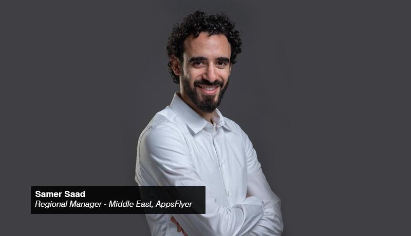 samer Saad - Regional Manager - Middle East - AppsFlyer- techxmedia