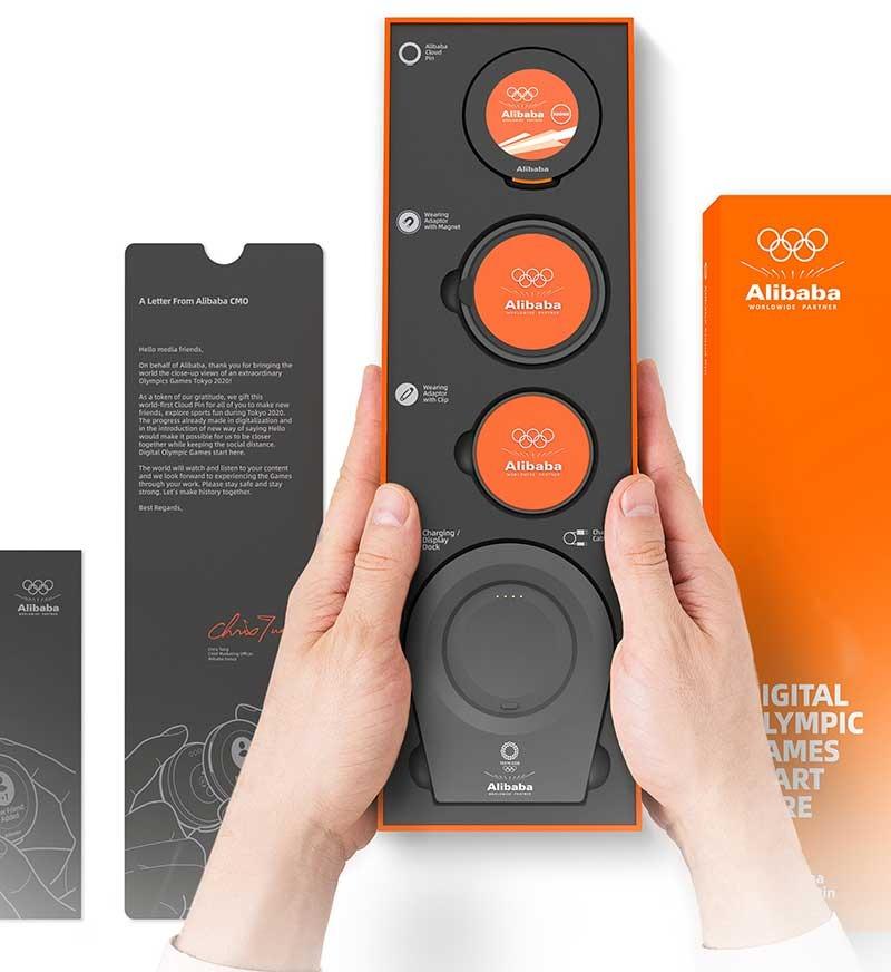 2 Alibaba - Cloud Pin - media professionals - Olympic Games 2020 - techxmedia