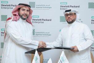 AlJammaz Technologies - distribution agreement - HPE