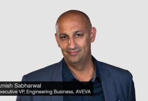 Amish Sabharwal - Executive Vice President - Engineering Business - AVEVA - techxmedia.