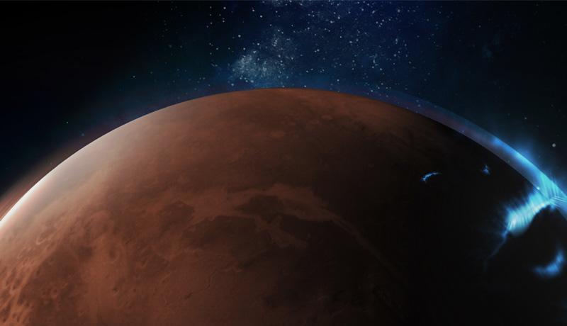 Emirates Mars Mission - Astraunaut view- techxmedia