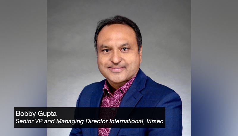 Bobby Gupta, Virsec - techxmedia