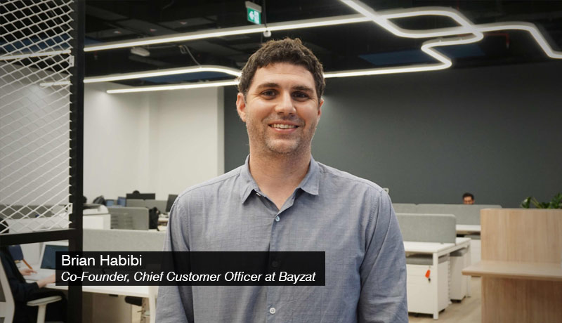 Brian Habibi - Co-Founder - Chief Customer Officer at Bayzat - techxmedia