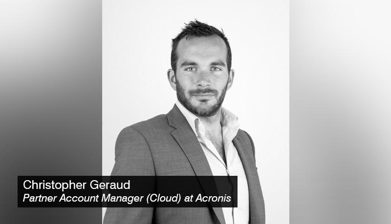 Christopher - Geraud - Partner - Account Manager-(Cloud) - acronis - techxmedia